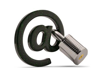 @ symbol with padlock