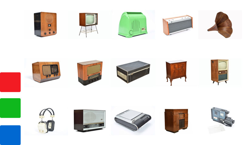 Vintage TV & Audio Equipment