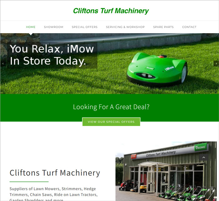 Clifton Turf Machinery