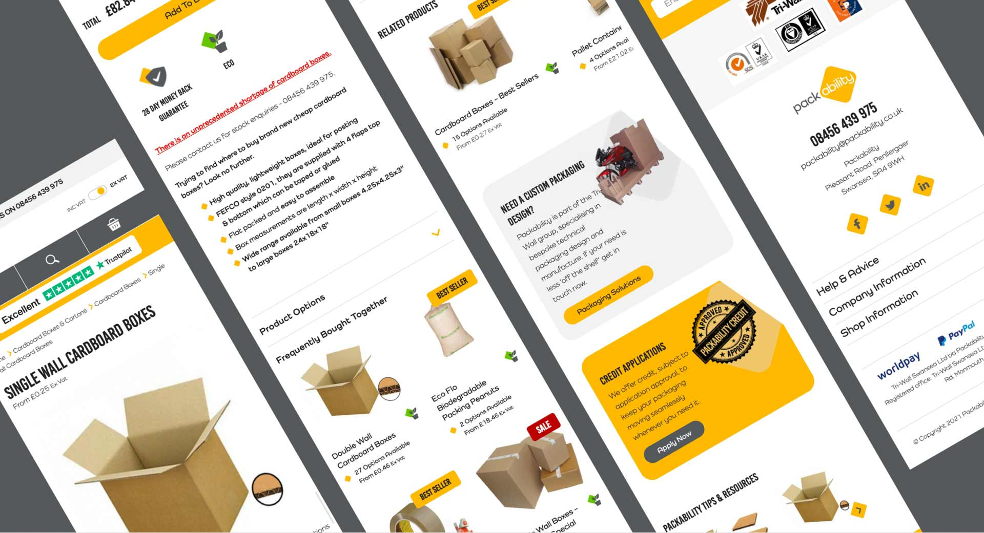 packability pages