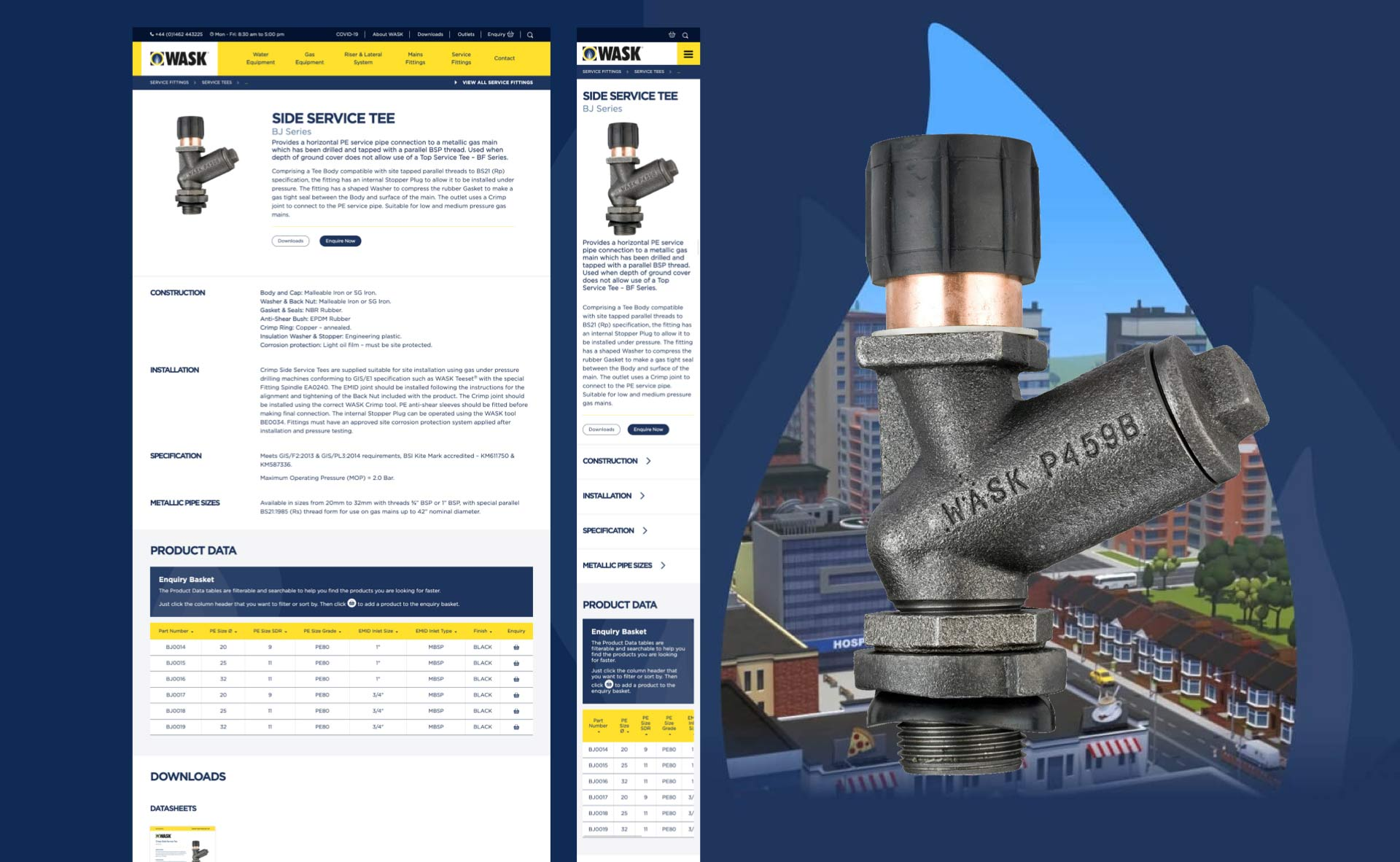 Wask Product Page